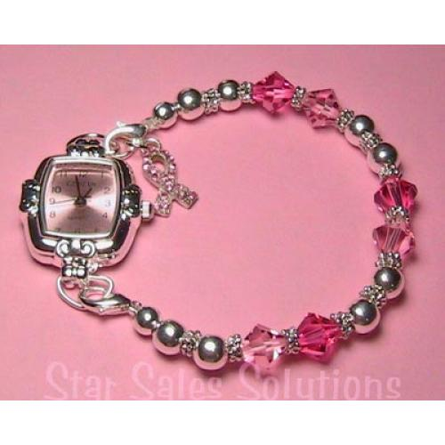 watch with proceeds going to Breakthrough Breast Cancer and Too Many