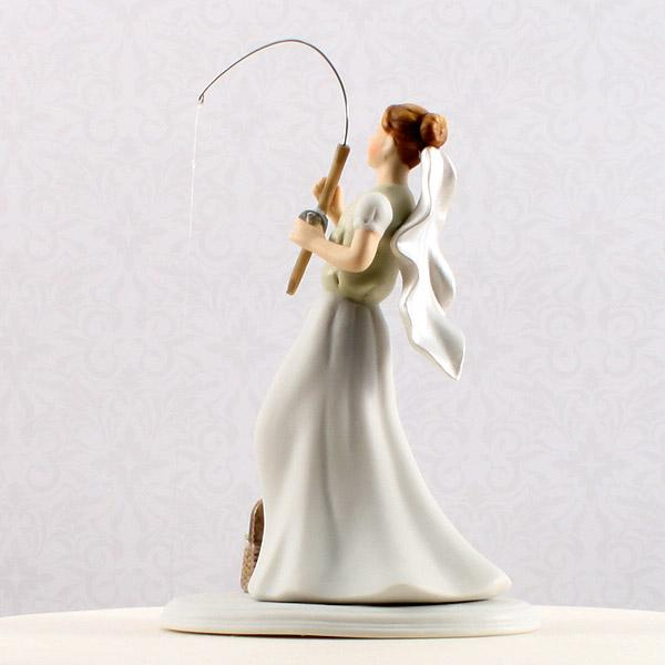 Gone fishing cake topper for Fishing cake toppers