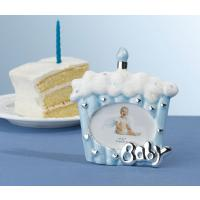 Blue Baby Cake Photo Frame