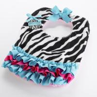 Wild Child Zebra Baby Bib